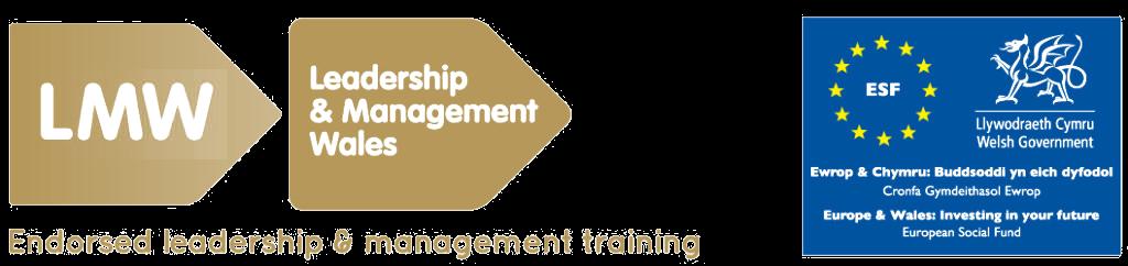Leadership Training Development Wales - leadership and management Wales badge