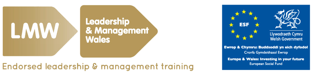Leadership Training Development Wales - leadership and management Wales badge